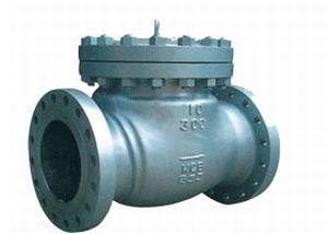API 600 CAST STEEL CHECK VALVE