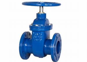cast iron DIN F4 metal seated gate valve