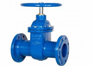 cast iron DIN F5 metal seated gate valve