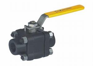 FORGED-STEEL-THREE-PIECE-BALL-VALVE